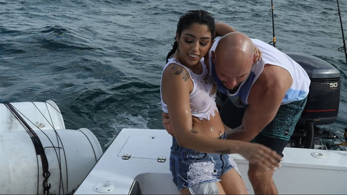 Vanessa Sky in Cuban Hottie Gets Rescued at Sea